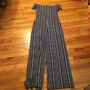 Windsor Striped Jumpsuit